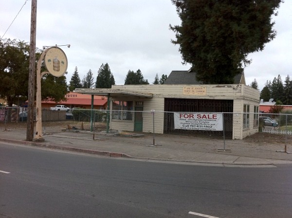 SOLD!!! Historic Class A Commercial 185 Healdsburg Ave. Wine Country